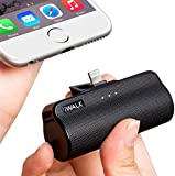 iWALK Mini Power Bank 3350mAh, Portable Phone Charger Compact Powerbank with Built in