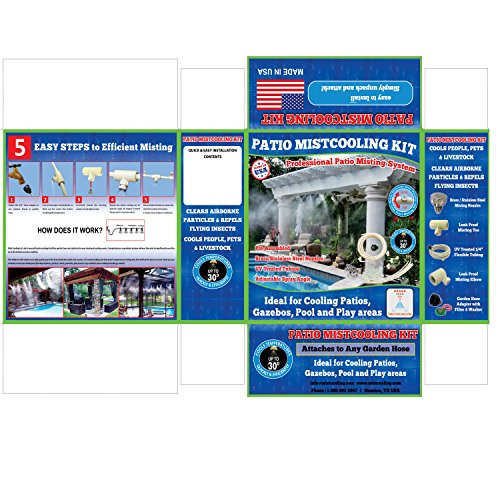 mistcooling Patio Misting System- Low Pressure -...
