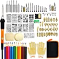 82 PCS Wood Burning Kit, Father's Day Wood Tool with Adjustable On-Off Switch Control Temperature 200~450 ? Professional Wood Burning Pen and DIY Various Wooden Kits Carving/Embossing/Soldering Tips