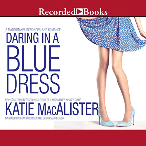 Page de couverture de Daring in a Blue Dress