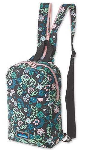 KAVU Forlynne Convertible Backpack Sling For Women Crossbody Shoulder Bag - Whimsical Meadow