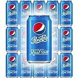 Pepsi Soda With Real Sugar, 12 Fl Oz Can...