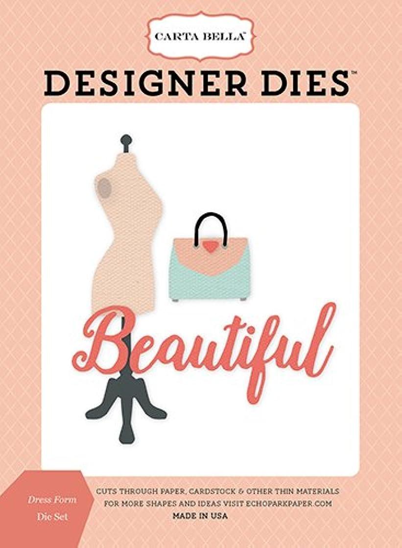 Carta Bella Paper Company CBMG60040 Dress Form Die Set