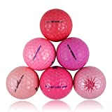 Pink Value Brand Mix Value Mint Quality Golf Balls - 96 Pack, White