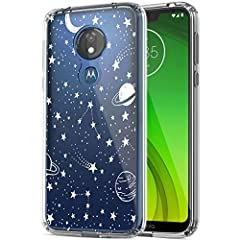 [Compatible with]: Motorola Moto G7 Power / Motorola Moto G7 Supra / Motorola Moto G7 Optimo Maxx. [Crystal Clear]: The crystal clear transparent case for Moto G7 Power reserved the original phone color with unique design print, perfectly show the be...