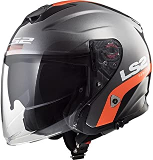 LS2-305625002L//162 Jet ouvert casque AIRFLOW L OF562 SOLID