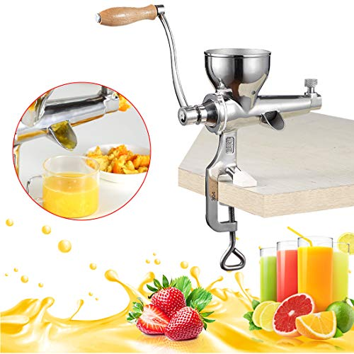 Wheatgrass Manual Entsafter, DIY Superb Juice Extraction Home für Soft Fruit Gemüse Heavy Duty Edelstahl Leafy Grün Juicer Kitchen Tool
