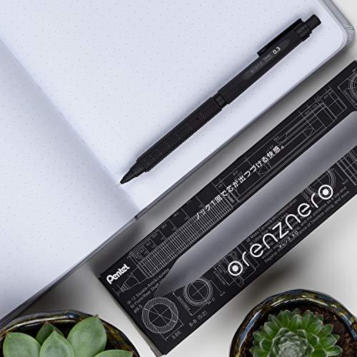 ぺんてるシャープペンオレンズネロ0.3mmPP3003-A