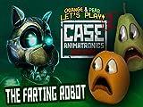 Clip: Annoying Orange and Pear play Case Animatronics 2