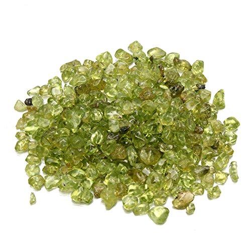 GOZAR 50G natuurlijke groene olijfboom peridot kwarts kristal stenen rock ontwerp accessoires