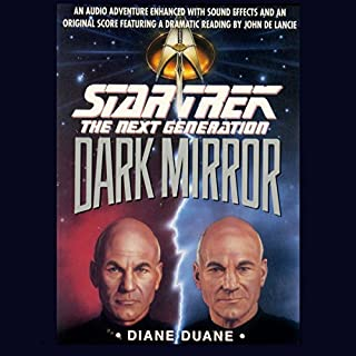 Star Trek, The Next Generation: The Dark Mirror (Adapted) cover art