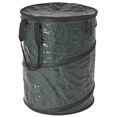 Price comparison product image Stansport Collapsible Campsite Carry-All Trash Can,  Green