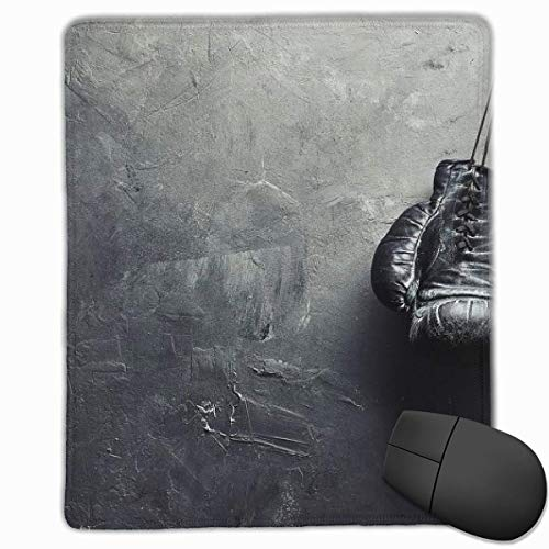 Glattes Mauspad, Boxhandschuhe Mobile Gaming Mousepad Work Mouse Pad Büropad