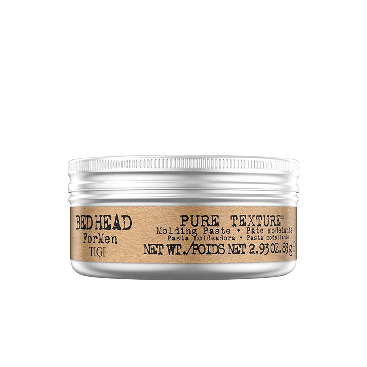力ブランド間に合わせTIGI Bed Head B Men's Pure Texture Molding Paste, 2.93 Ounce by TIGI
