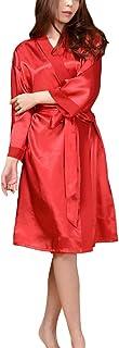 GGTFA Mujeres Kimono Batas De Albornoz Vestido De Ropa De Dormir para SPA Fiesta De Cumpleaños De La Boda