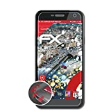 atFolix Schutzfolie kompatibel mit WileyFox Spark Folie, entspiegelnde & Flexible FX Bildschirmschutzfolie (3X)