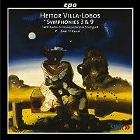 ヴィラ=ロボス:交響曲 第3番「戦争」/同第9番/序曲「そのような男」
