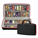 TPCY Hard Storage Carrying Case Compatible with Beyblades,Hot Wheels 70 Cars Gift Pack(CASE ONLY)