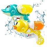 MOOKLIN ROAM 2 Pack Wasserpistole Spielzeug für Kinder, Wassergewehr Spritzpistolen Set für Party...