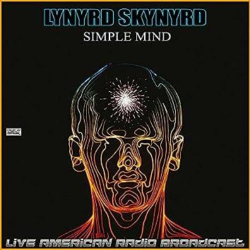 Simple Mind (Live)