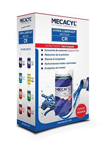Mecacyl CR - Flacon 100 ML - Hyper-Lubrifiant - Spécial vidange - pour Moteurs 4 Temps (Essence, Diesel, Hybride, Gaz)