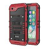 seacosmo iPhone 5S wasserdichte Hülle, Militärstandard Schutzhülle mit Eingebautem Displayschutz Haltbarkeit stoßfest Handyhülle