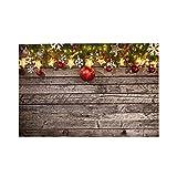 MZTYPLK Rompecabezas de 1000 Piezas,Rompecabezas de imágenes,Decoración de Navidad en lotes de Fondo de Madera,Juguetes Puzzle for Adultos niños Interesante Juego Juguete Decoración para El Hogar