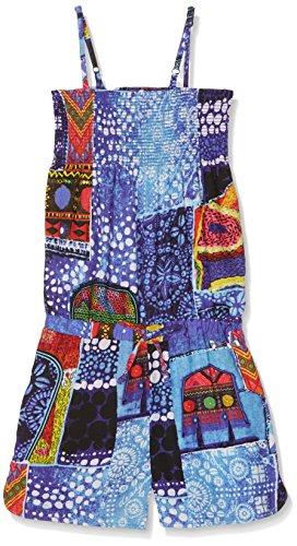 Desigual Mädchen Pant_BUCARDO Overall, Blau (Azul Klein 5036), 140 (Herstellergröße:9/10)