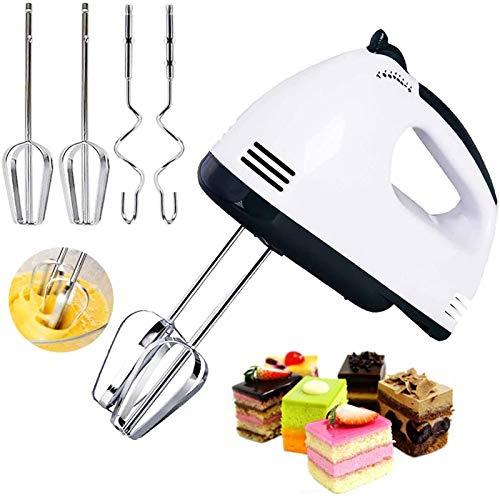Elektrischer Whisk Klein, Mischer Küche Handheld Automatische Mischer Mischer Eiweiß Creme Siebenschnelle Regulierung...