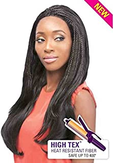Outre Synthetic Lace Front Wig - Malaysian Braid-1B