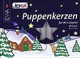 Ebersbacher Wachswaren Puppenkerzen 40 Stück Puppen Kerzen, 7 x 65 mm, Wachs, weiß, 0,7 x 0,7 x...