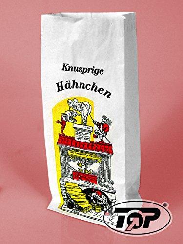 1000 Warmhaltebeutel Hähnchenbeutel Hähnchentüten Haxnbeutel Hendltüten Broilerbeutel 3-lagig mit Aluminiumfolie