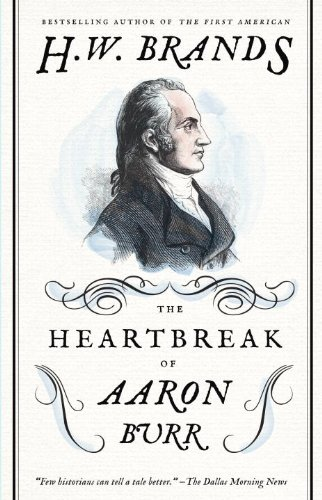 『The Heartbreak of Aaron Burr』のカバーアート