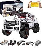KEAYO Technik Gelndewagen Ferngesteuert, Mould King 13061, Technik 6x6 Truck mit Monstermotor, Technik Off-Roader Bausatz Kompatibel mit Lego Technik