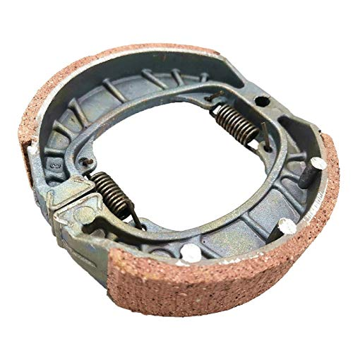 Brake Pad Shoe Drum for GY6 49cc 50cc 150cc Scooter ATV Dirt Pit Bike Roketa Jonway Taotao Baja Coolster Kinroad