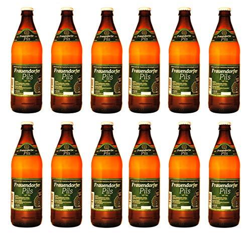 Brauerei Hetzel - Frauendorfer Pils (12 Flaschen) I Bierpaket von Bierwohl