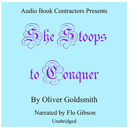 She Stoops to Conquer audiobook cover art