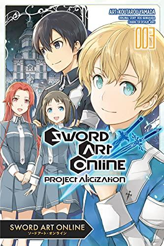 Sword Art Online: Project Alicization, Vol. 3 (Manga)