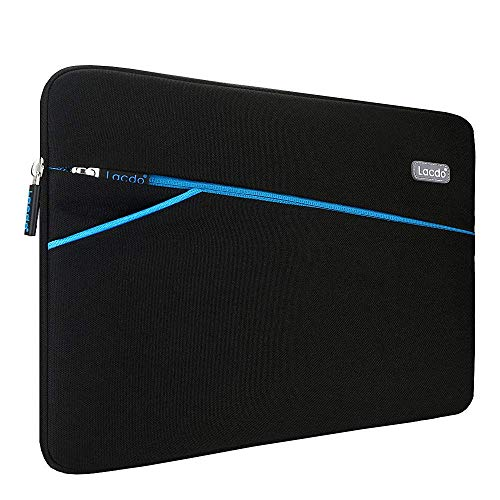 "Lacdo 13.3 polegada Capa Bolsa para Velho 13"" MacBook Pro 2012-2015/MacBook Air 2010-2017, 13.5"" Surface Book/Laptop 3 2 1, 13.3"" HP Envy X360, Dell Lenovo Acer ASUS Notebook Laptop, Preto"