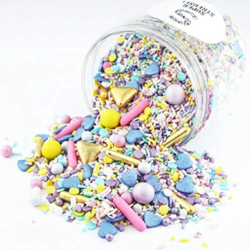 Super Streusel Over The Rainbow - Sprinkle Mix with Chocolate Balls 90g