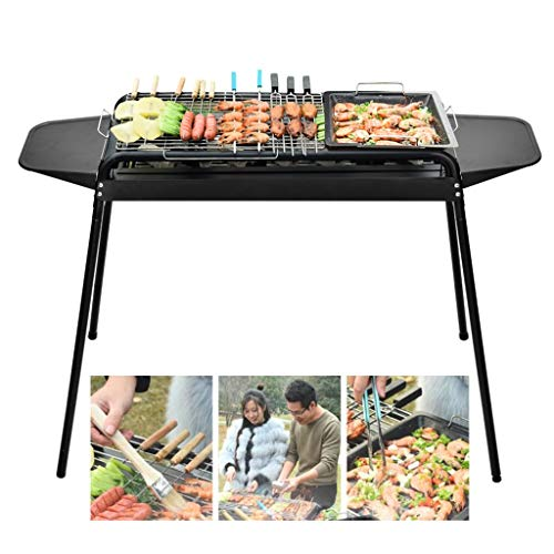 Sale!! Barbecue Tools BBQ Home Charcoal Barbecue Grill Outdoor Barbecue Full Set of Tools Independen...