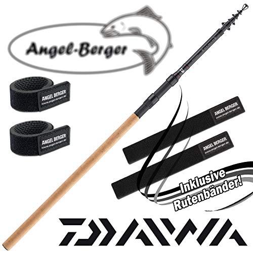 Daiwa Ninja X Tele Carp Karpfenrute Angelrute Teleskoprute Korkgriff Rutenband (3,60m 3lbs)