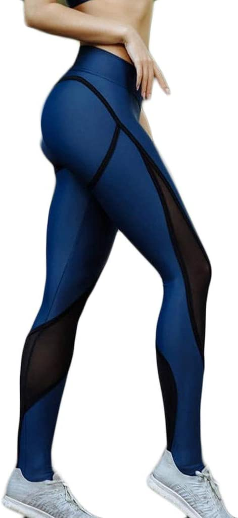 Women Yoga Pants Stitching Hollow Stret Waisted Clearance SALE Limited time Hip-Lifting High Ranking TOP13