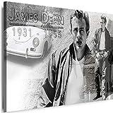 Myartstyle - Bilder James Dean 60 x 40 cm Leinwandbilder