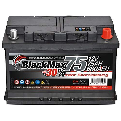 BlackMax -  Autobatterie 12V
