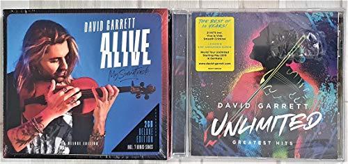 Best of David Garrett 2 CD Set Unlimited-Greatest Hits + Alive - My Soundtrack