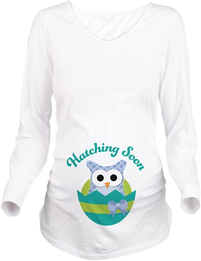 CafePress Hatching Regular discount Soon Easter Maternity Owl Tee Super special price