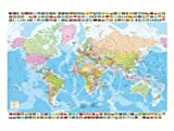 Educa Puzzle Adulte Carte du Monde - 1500 Pieces