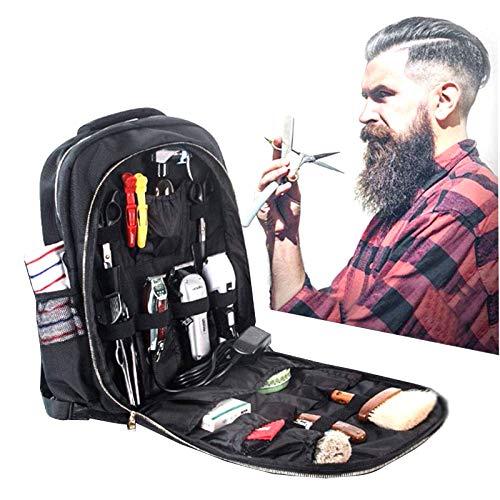LDSB Herramientas de peluquería Bolsa de Almacenamiento Estilista de Gran Capacidad Organizador cosmético Herramienta de Maquillaje para Bolsas de Peluquero, Bolsas de Ocio, Práctico