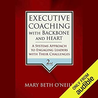 Executive Coaching with Backbone and Heart audiobook cover art